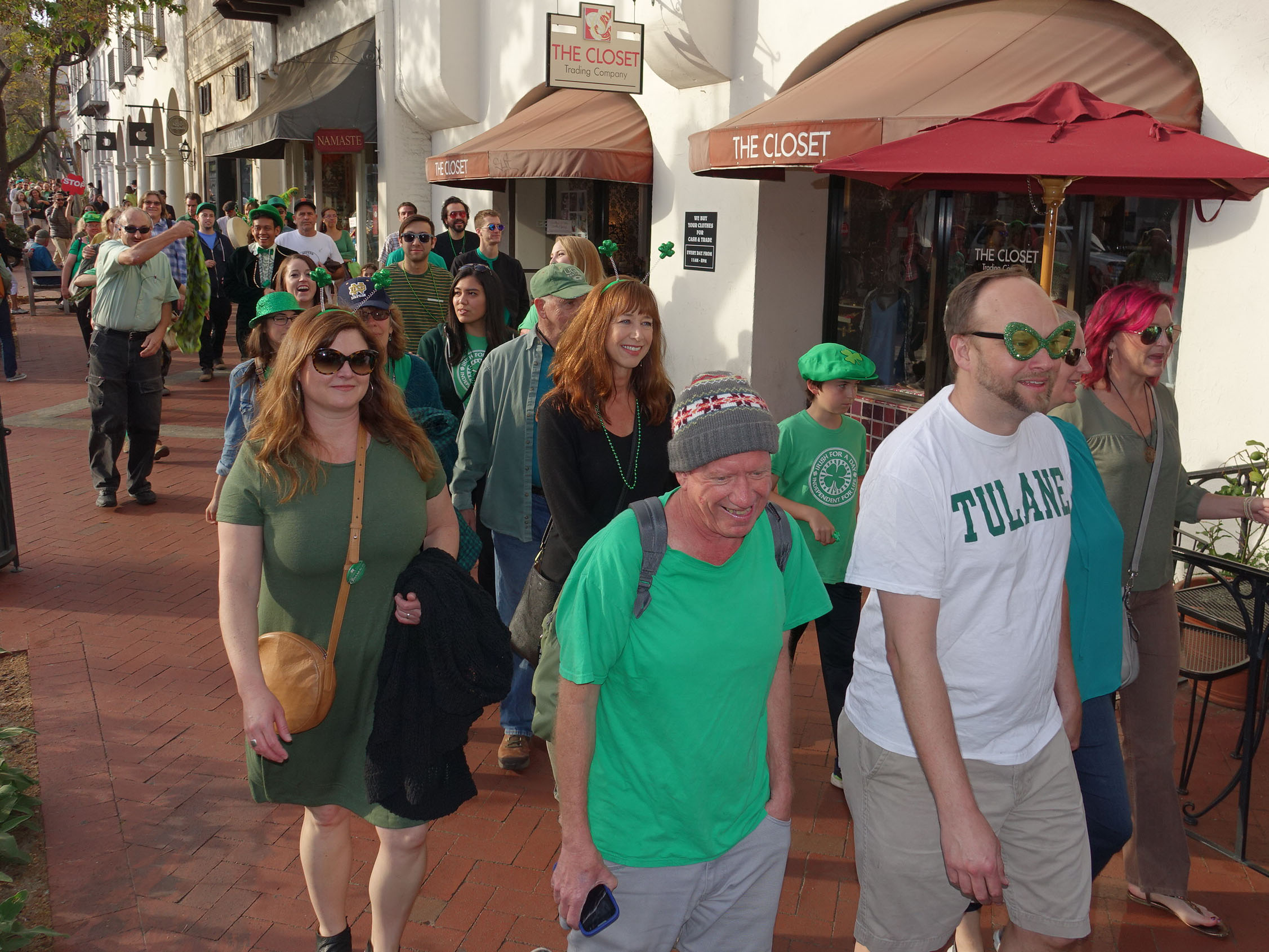 St Patrick's Day - State Street Stroll - 17 March 2017